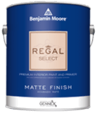 Benjamin Moore interior paint can