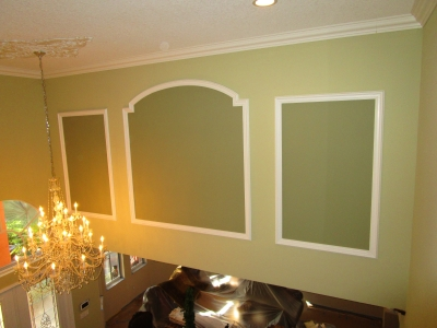 Olympia Foyer Decorative Painting Before
